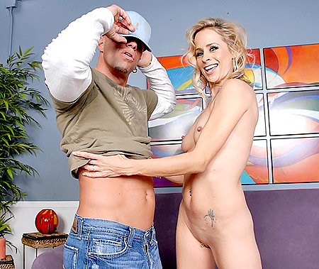 Blonde MILF Payton Stuffed with a Fat Dick